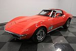 CHEVROLET CORVETTE C3 5.7 Small Block V8 (350ci) STINGRAY coupé Rouge