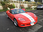 CHEVROLET CORVETTE C6 6.0 404ch coupé Rouge