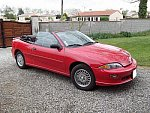 CHEVROLET CAVALIER cabriolet Rouge