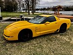 CHEVROLET CORVETTE C5 Z06 coupé Jaune
