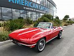 CHEVROLET CORVETTE C2 5.4 Small-Block V8 (327ci) L76 365CH cabriolet Rouge