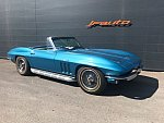 CHEVROLET CORVETTE C2 5.4 Small-Block V8 (327ci) FUEL INJECTED cabriolet Bleu