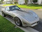 CHEVROLET CORVETTE C3 5.7 Small Block V8 (350ci) Collector Edition Cross Fire Injection coupé Gris clair