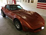 CHEVROLET CORVETTE C3 5.7 Small Block V8 (350ci) Full option coupé Orange foncé