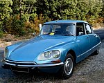CITROEN DS 20 Confort berline Bleu