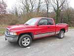 DODGE RAM II 1500 Laramie pick-up Rouge occasion
