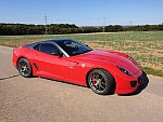 FERRARI 599 GTO Limited edition coupé Rouge occasion