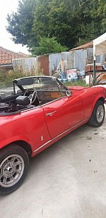 FIAT 124 I Spider 1.6L (Serie 2 - BS1) cabriolet Rouge occasion - 13 500 €, 10 550 km