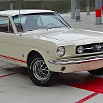 FORD MUSTANG I (1964-73) 4.7L V8 (289 ci) GT coupé Blanc occasion - 33 900 €, 116 500 km