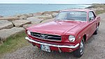 FORD MUSTANG I (1964-73) 4.7L V8 (289 ci) standard coupé Rouge