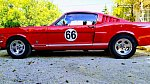 FORD MUSTANG I (1964-73) 4.7L V8 (289 ci) Fastback GT coupé Rouge occasion