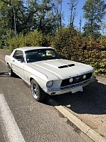 FORD MUSTANG I (1964-73) 4.7L V8 (289 ci) coupé Blanc occasion