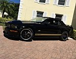 FORD MUSTANG V (2005-14) Serie 1 GT SHELBY GT-HERTZ cabriolet Noir occasion