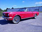 FORD MUSTANG I (1964-73) 4.7L V8 (289 ci) PARCHEMIN cabriolet Rouge occasion