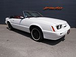 FORD MUSTANG III (1979-86) V6 2.8l cabriolet Blanc occasion