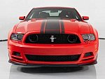 FORD MUSTANG V (2005-14) Serie 2 Boss 302 5.0L V8 450ch coupé Rouge