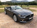 FORD MUSTANG VI (2015 - ...) GT 421 ch PACK LUXE cabriolet Gris occasion