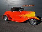 FORD Coupe A32 HOT ROD Orange