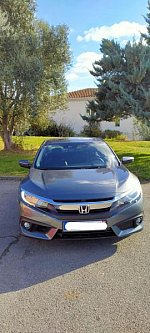 HONDA CIVIC IX 1.8 i-VTEC EXCLUSIVE berline Argent occasion - 25 000 €, 4 812 km