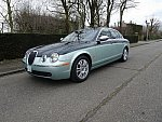 JAGUAR S-TYPE 2.7 V6 D Bi Turbo executive bitone berline Vert foncé