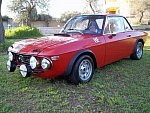 LANCIA FULVIA 1600 HF FANALONE GR.3 coupé Rouge