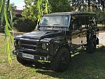 LAND ROVER DEFENDER IV 110 Hard Top KAHN Design (Chelsea Truck Co.) 4x4 Noir
