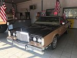 LINCOLN CONTINENTAL Mark VII berline Marron clair