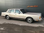 LINCOLN TOWN CAR SIGNATURE SERIES SEDAN berline Gris