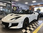 LOTUS EVORA 400 2+2 coupé Blanc
