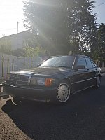 MERCEDES 190 W201 E 2.5-16 berline Noir