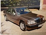 MERCEDES 190 W201 E 2.6 berline Bronze