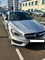 MERCEDES CLASSE CLA Shooting Brake X117 45 AMG 360 ch break Gris clair occasion