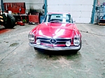 MERCEDES 280 W113 SL Pagode coupé Rouge