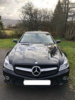 MERCEDES CLASSE SL R230 350 315ch PACK AMG cabriolet Noir