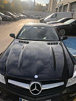 MERCEDES CLASSE SL R230 350 315ch PACK AMG cabriolet Noir occasion - 23 000 €, 154 281 km