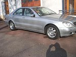 MERCEDES CLASSE S W220 320 CDI pack luxe berline Gris clair