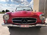 MERCEDES 190 W121 SL cabriolet Rouge