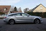 MERCEDES CLASSE CLS Berline C218 350 CDI BlueEfficiency FASCINATION break Gris clair