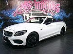 MERCEDES CLASSE C Cabriolet A205 AMG 43 4Matic 367 ch cabriolet Blanc