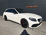 MERCEDES CLASSE C Break S205 63 S AMG 510 ch break Blanc occasion