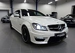 MERCEDES CLASSE C Coupé C204 63 AMG SPEEDSHIFT MCT coupé Blanc