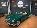 MG A 1500 cabriolet Vert occasion