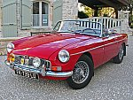 MG B Mk2 Haute spécification, Heritage Shell, Overdrive cabriolet Rouge occasion