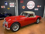 MG A 1600 MKI cabriolet Rouge occasion