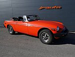 MG B Mk4 cabriolet Orange