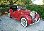 MG TYPE Y YT pack lux cabriolet Rouge occasion