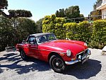 MG B Mk4 cabriolet Rouge occasion