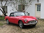 MG B Mk1 cabriolet Rouge clair occasion