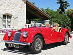 MORGAN 4-4 1.8 cabriolet Rouge