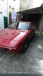 PORSCHE 924 2.0 turbo coupé Rouge